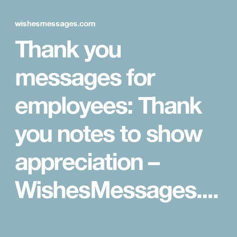 33 Employee Appreciation Messages Appreciation message, Employee - copy business letter appreciation thank you