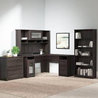 Bush Business Furniture Studio C Configurable Office Set Reviews Wayfair Office Furniture Set Office Set Furniture