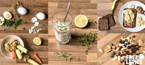 Snacks ricos en proteínas estés donde estés.