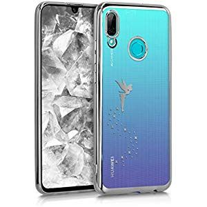 Kwmobile Huawei P Smart 2019 Hulle Handyhulle Fur Huawei P Smart 2019 Handy Case In Silber Transparent Elektronik Fot Phone Cases Mobile Phone Cases Phone