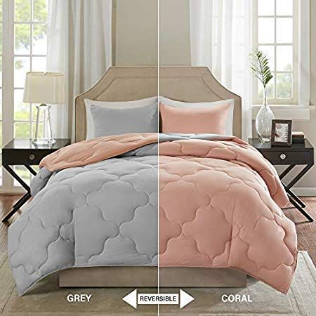 Coral Bedding Sets And Comforters Beachfront Decor Coral Bedding Coastal Bedrooms Coral Bedding Sets