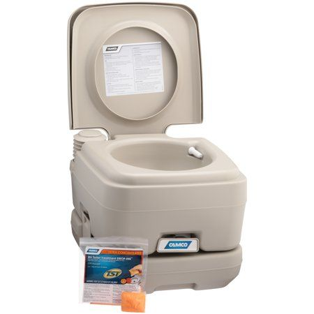 Sports Outdoors Portable Toilet Camping Potty Camper Awnings