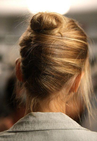 simple hair style #fashion