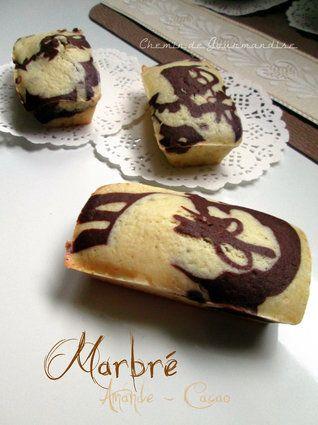Muffins marbrés choco-amande : la recette facile