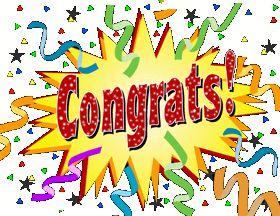 Congrats Quotes By Anne Whitefield On Clip Art Congratulations