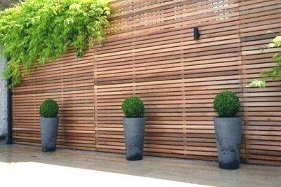Sichtschutzzaun Holz Sichtschutz Garten Gartengestaltung Ideen Gartengestaltung