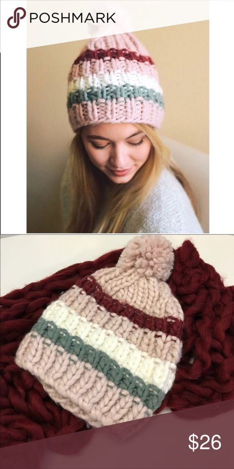312d5f34798 JUST IN - Blush Large Cable Knit Winter Hat These winter hats are in such a  beautiful blend of colors and are soft   cozy too!