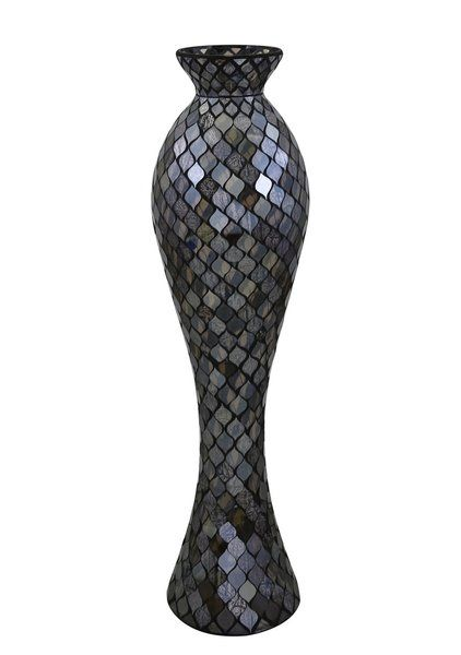 You Ll Love The Moroccan Mosaic Curve Floor Vase At Wayfair Co Uk