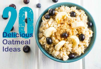 20 Healthy and Tasty Breakfast Ideas via @SparkPeople