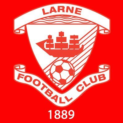 Larne Football Club Football Team Logos Football Logo Football Club