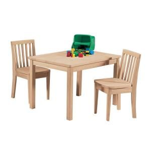International Concepts Unfinished Solid Wood Kid S Table 2532