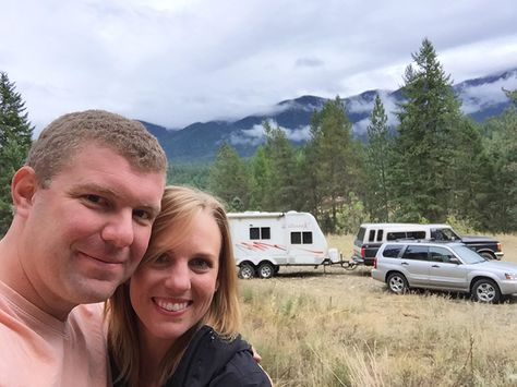 We are living full time in a travel trailer while we build our off grid home and have learned ways to make it awesome! Follow this guide to travel trailer living!