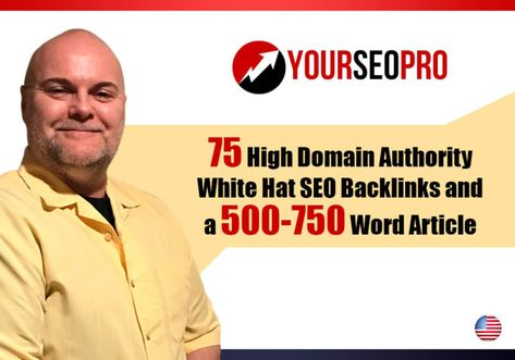 I will do 75 manual google SEO backlinks and article with 40 plus da