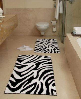 Chesapeake Safari Bath Rug Set Reviews Bath Rugs Bath Mats Bed Bath Macy S Zebra Bath Rug Bath Rugs Sets Bathroom Rug Sets