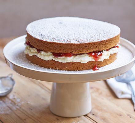 Vegan Sponge Cake Recipe Vegan Sponge Cake Recipe Vegan Cake Recipes Bbc Good Food Recipes