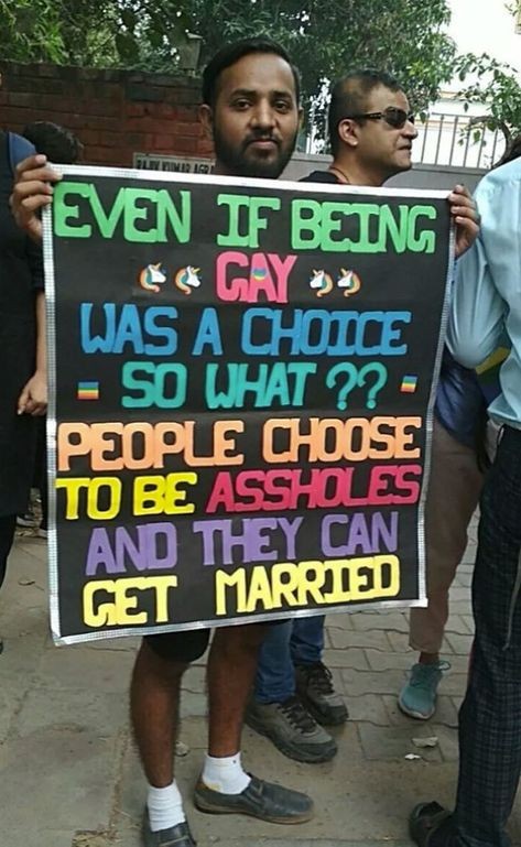 Even If Being Gay Was A Choice - So What?? People Choose To Be Assholes And They Can Get Married