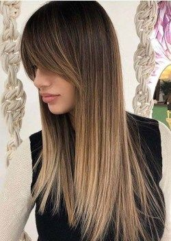 28 Amazing Hair Style For 2020 With Long Straight Hair Emmanuel S Blog Long Hair With Bangs Long Straight Hair Haircuts For Long Hair