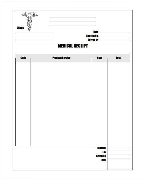 Printable Receipt Form Transmittal Receipt Form Receipt Template
