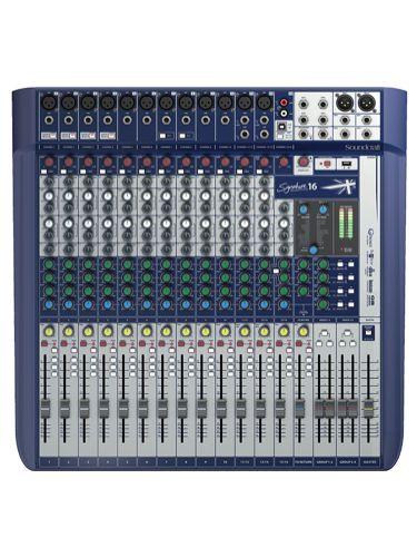 Soundcraft Signature 16 Mixer Mixers Signal To Noise Ratio Signature