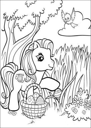 My Little Pony Ausmalbilder Malvorlagen Ostern Malvorlage Hase Ausmalbilder