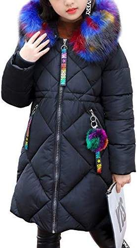 Parka Down Coat OCHENTA Boys Hooded Winter Quilted Puffer Jacket