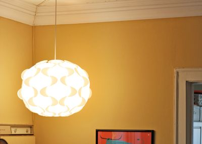A new lamp for our weird corner | How About Orange (With