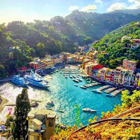 Marina di Portofino - Italy Credits @TimothySykes follow him for millionaire…