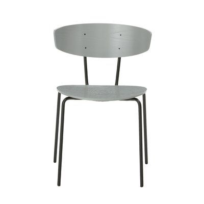 Ferm Living Herman Side Chair Seat Color Gray Side Chairs