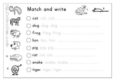 Kindergarten Writing Worksheet Photos - Toribeedesign