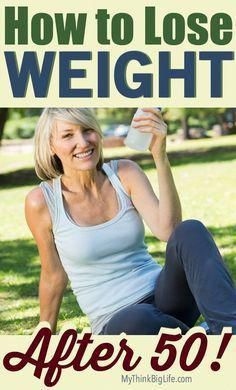 trying to lose weight at 50