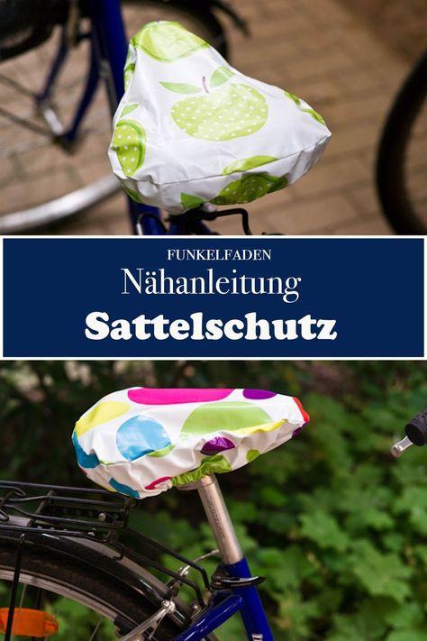Nähanleitung: Regenschutz für den Fahrrad Kindersitz