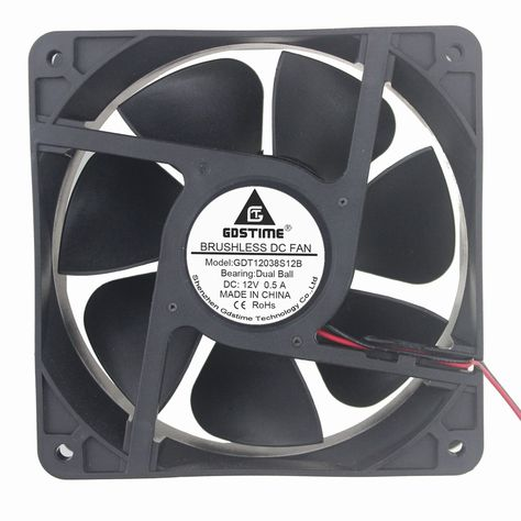 50mm x 20mm 12V Brushless Blower Cooling Exhaust Fan 2pin Computer 3D Printer
