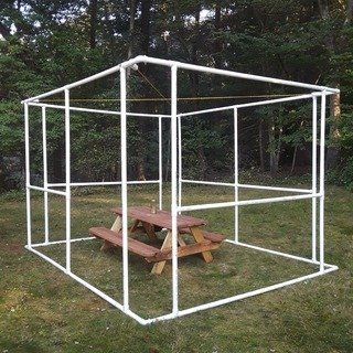 UPDATED! Simple DIY Sukkah - Build Your Own From PVC Pipe
