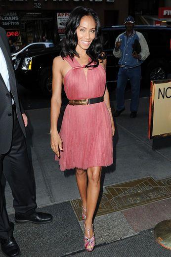 Jada Pinkett-Smith looking all pretty in pink!!!!