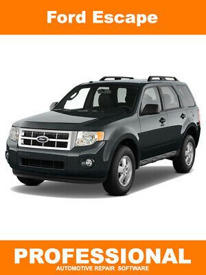 Advertisement Ebay Ford Escape Repair Manual Service Software 2012 Models Limited And Hybrid Suv