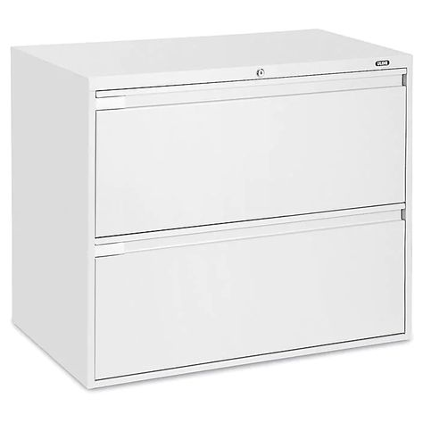 Lateral File Cabinet 36 Wide 2 Drawer White H 2739w Uline In 2020 With Images Filing Cabinet Lateral File Cabinet Lateral File