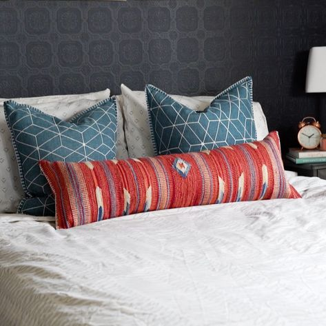 Make a pillow out of a rug!