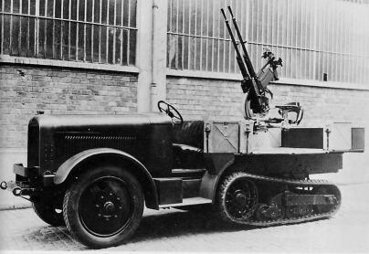 20 Mm Citroen Kegresse P 19 French Experimental Spaag 1927