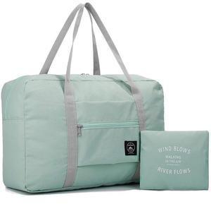 Travel Luggage Duffle Bag Lightweight Portable Handbag Love Yoga Large Capacity Waterproof Foldable Storage Tote