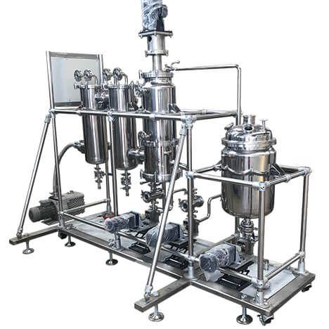 Mds 30c Short Path Distillation Cannabinoids Equipment Flow 5l