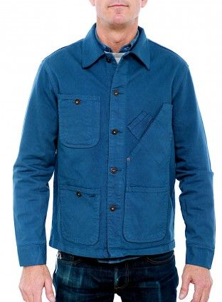 // Tellason coverall jacket in blue
