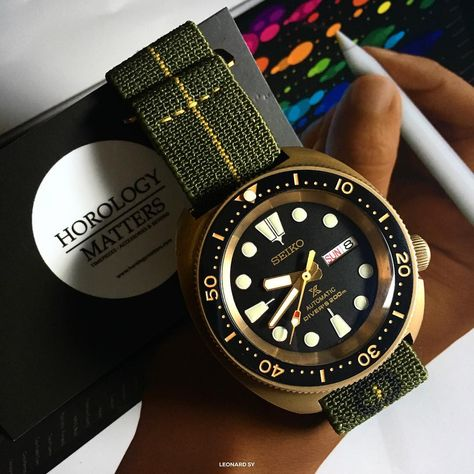 "135 Likes, 3 Comments - Horology Matters PH (@horologymatters) on Instagram: ""@calibremagazineph and @horologymatters Collaboration Turtle Bronzo is on its final stage. Stay…"""
