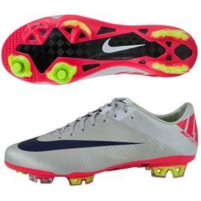 My favorite kind of cleats! Nike Mercurial Vapor Superfly III Elite FG  Soccer Cleats (