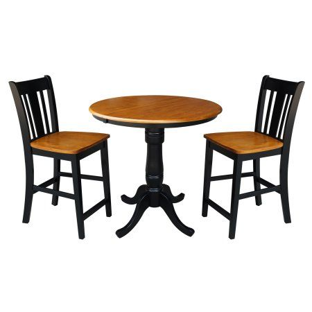36 Inch Round Counter Height Table With