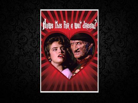 Freddy Krueger Nightmare On Elm Street Printed by GhastlyGreetings   Nightmare on elm street ...