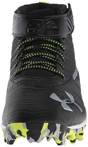 Under Armour Mens Harper Mid Rm Baseball Shoe