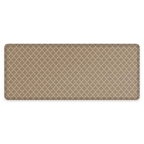 Gelpro Newlife 30 X 72 Lattice Designer Comfort Mat In Tan Design