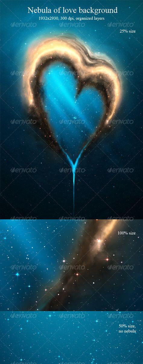 Nebula of Love Background