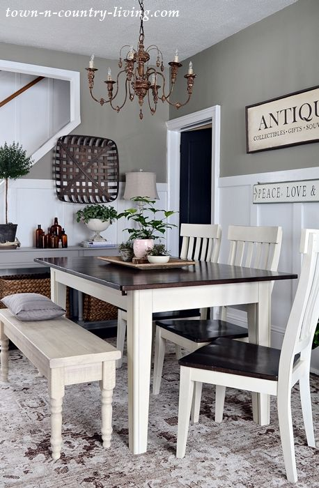Dining Room Color Because One Thing Leads To Another Town Country Living Dining Room Paint Dining Room Colors Dining Room Paint Colors