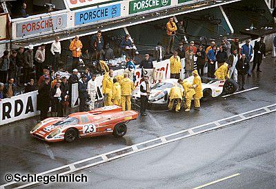 1970 France Le Mans Sports Cars Prototype Porsche 917l 917k